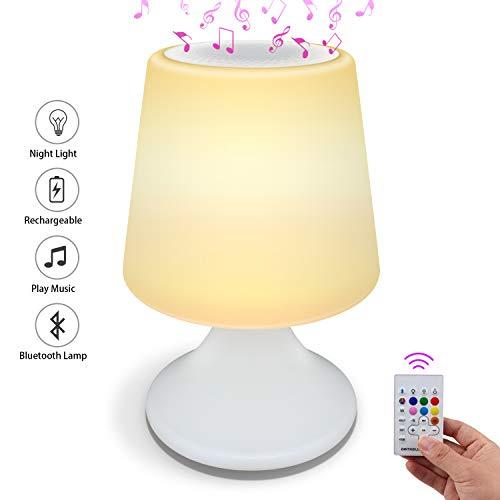 Lámpara RGB Altavoz Bluetooth solo 9.9€
