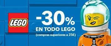 30% de descuento en todos los legos