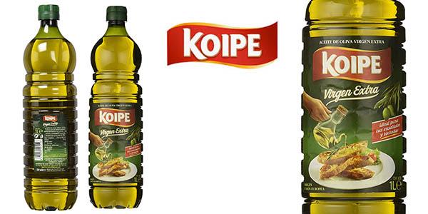 Aceite oliva koipe virgen extra botella 1 litro.