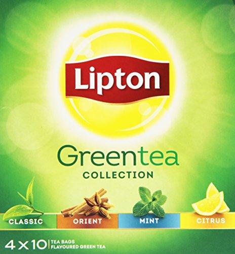 Lipton Surtido de té verde Pack de 12