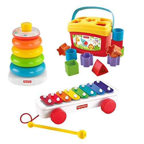 Pack juguetes Fisher Price para bebe