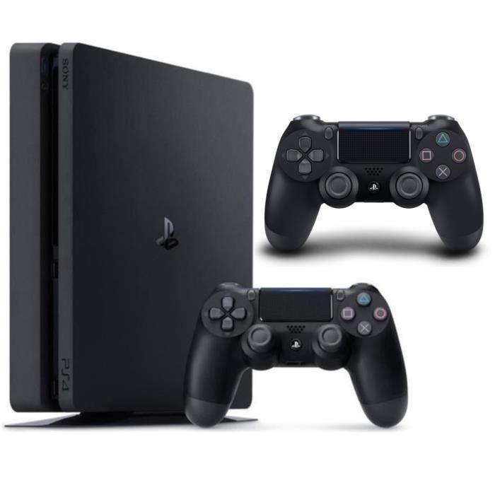Pack PS4 500 GB Negra+ 2 DualShock 4