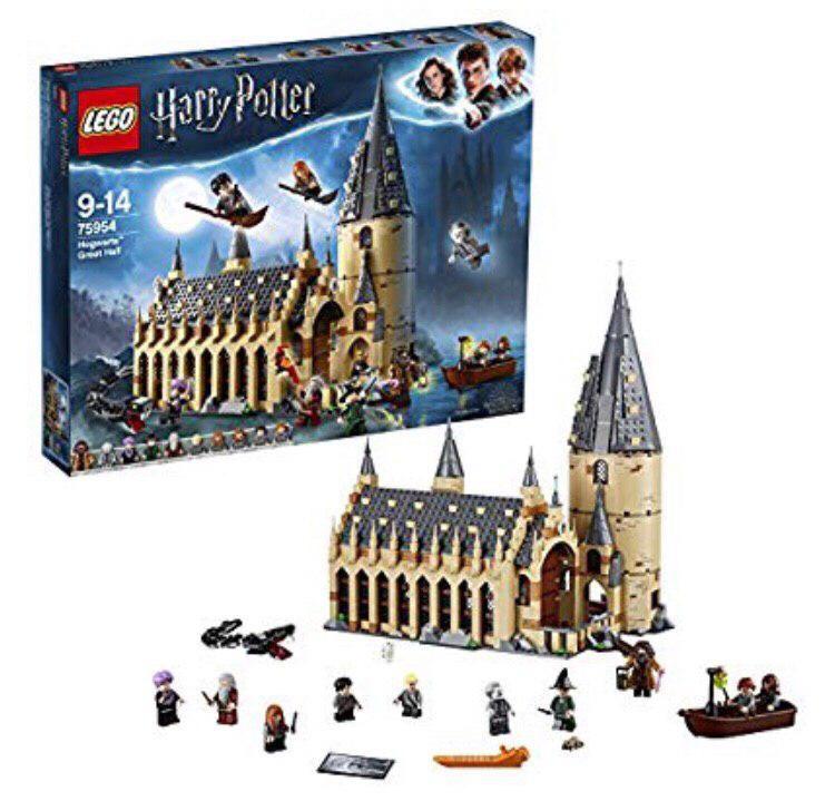 ¡Gran Comedor de Harry Potter de Lego sólo 62,95€! Envío gratis