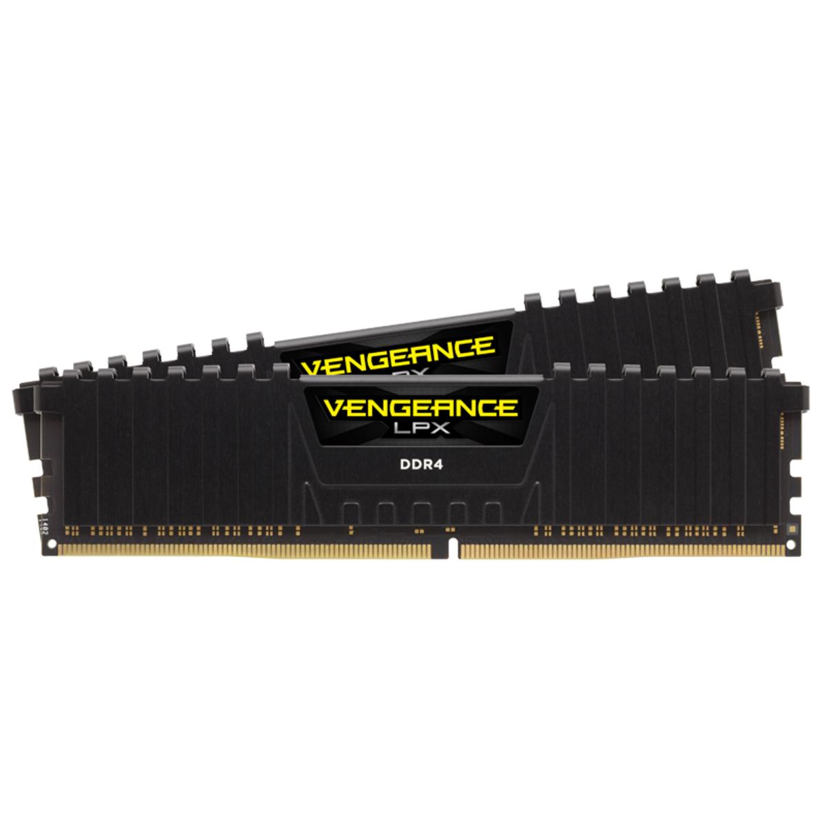 Corsair Vengeance LPX Black 16GB DDR4 (2x8GB) 3600MHz (PC4-28800) CL18
