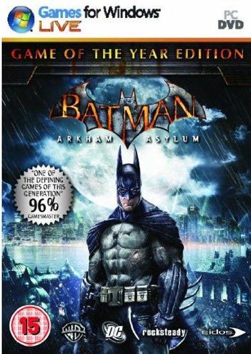 Batman : Arkham Asylum - Game Of The Year Edition (PC)