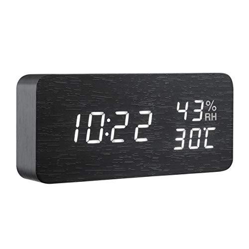 Criacr Reloj despertador digital
