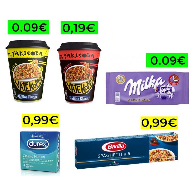 150 productos de super a menos de 1€