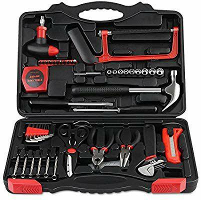 Caja de 57 herramientas básicas por 13,99€