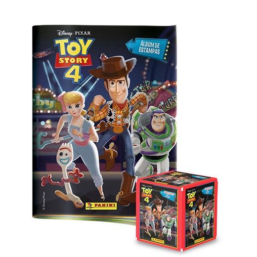 Toy Story 4 álbumes + tarjetero (Plus)