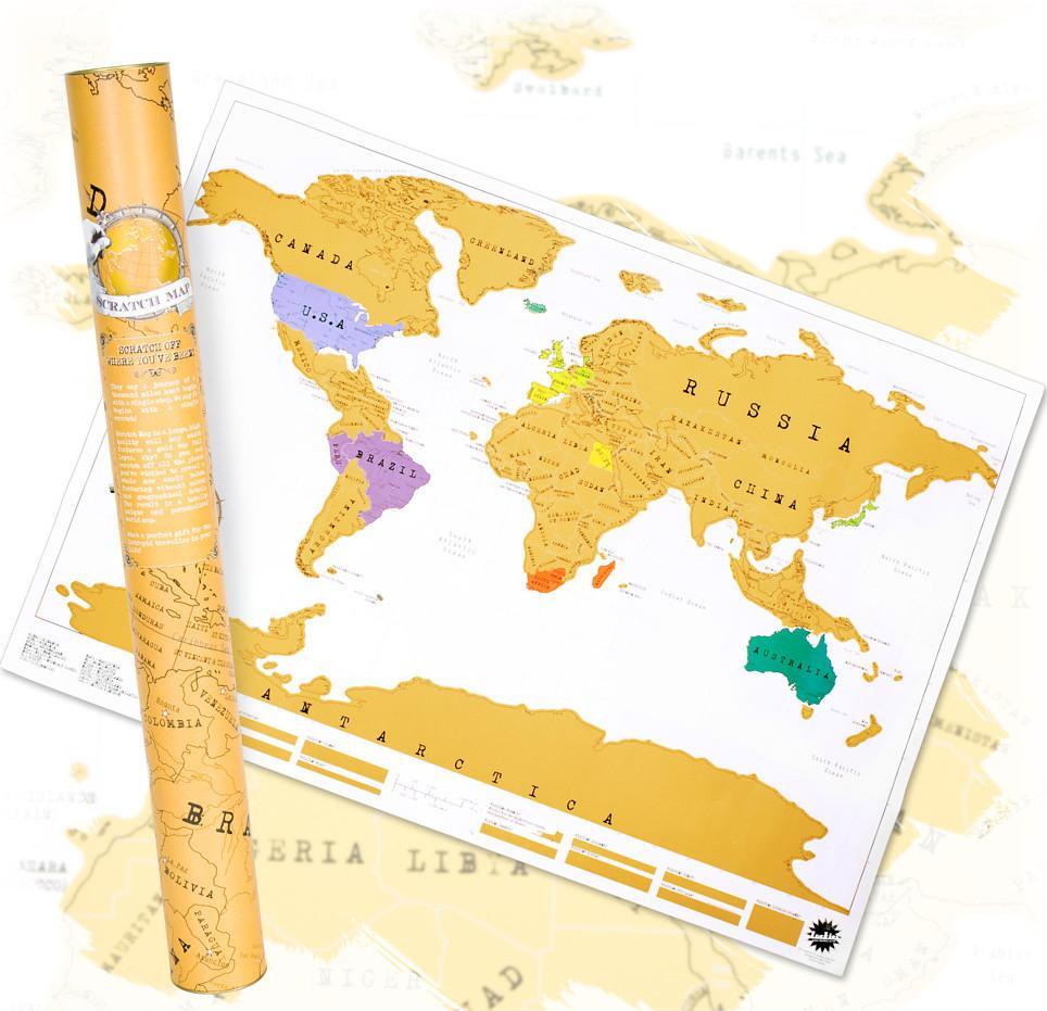 Mapa Mundial para rascar solo 3.5€