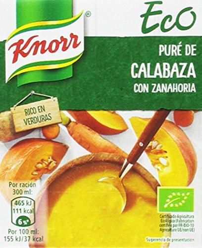 12 x Knorr Eco Puré de Calabaza con Zanahoria