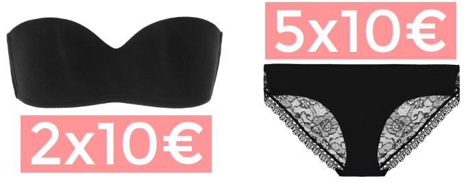Multipacks ropa interior Tezenis solo 10€