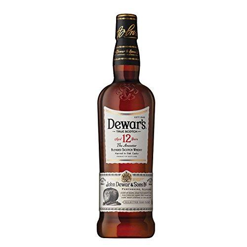 Whisky dewar's 12 años 1 litro