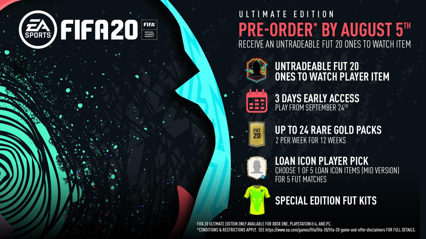 Fifa 20 ultimate edition(la edición más tocha)