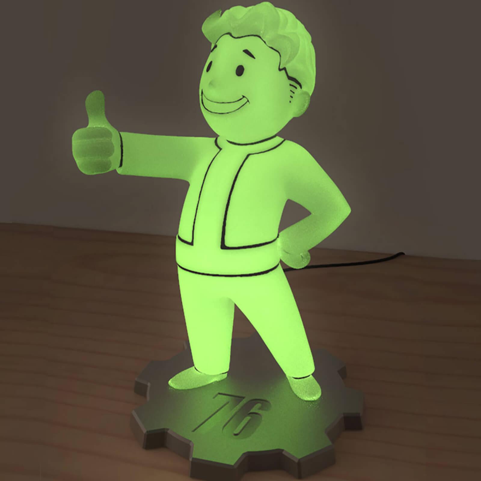 Lámpara LED Fallout 76 Vault Boy