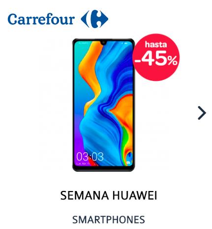 SEMANA HUAWEI - SMARTPHONE HASTA 45% DE DESCUENTO