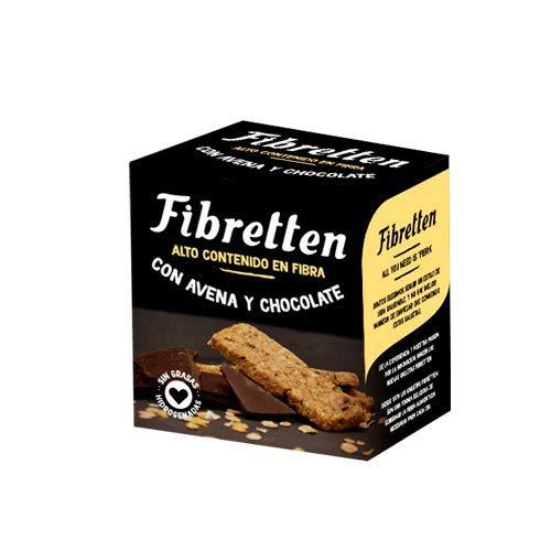 10 paquetes Fibretten Galletas Avena y Chocolate