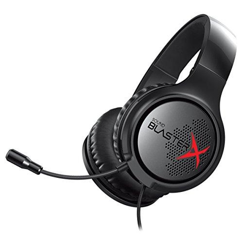 Creative Sound BlasterX H3 - Cascos gaming portátiles analógicos con micrófono