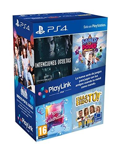 Playlink PS4 con 4 juegos solo 22.9€