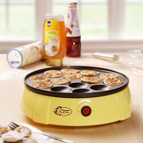 Máquina para hacer mini-crepes