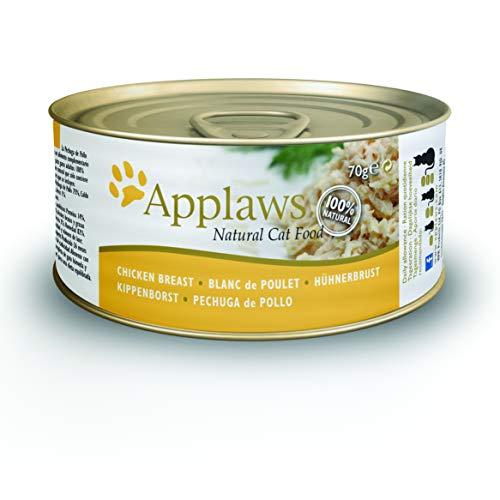 24 latas de comida de gatos