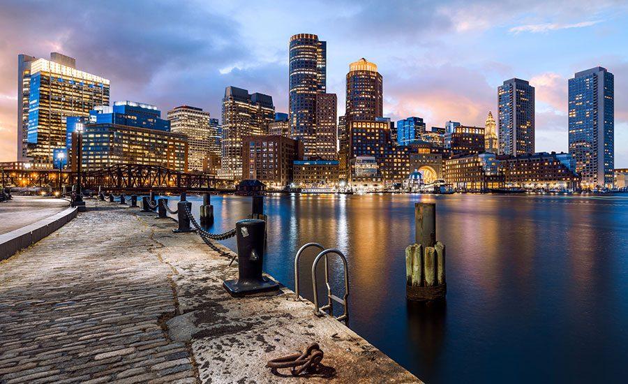 Vuelos directos a Boston en diciembre desde 138€/trayecto