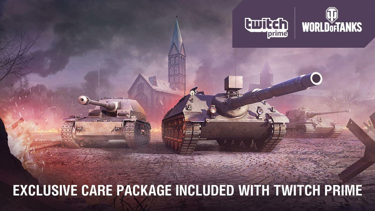 World of Tanks y Twitch Prime GRATIS