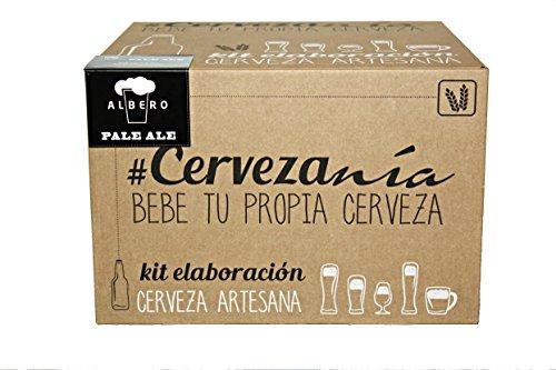 Kit de preparación de cerveza casera