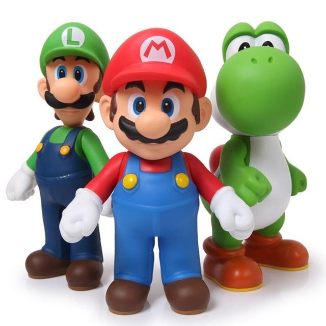 Set de figuras (Mario, Luigi y Yoshi) por solo 6.57€!!