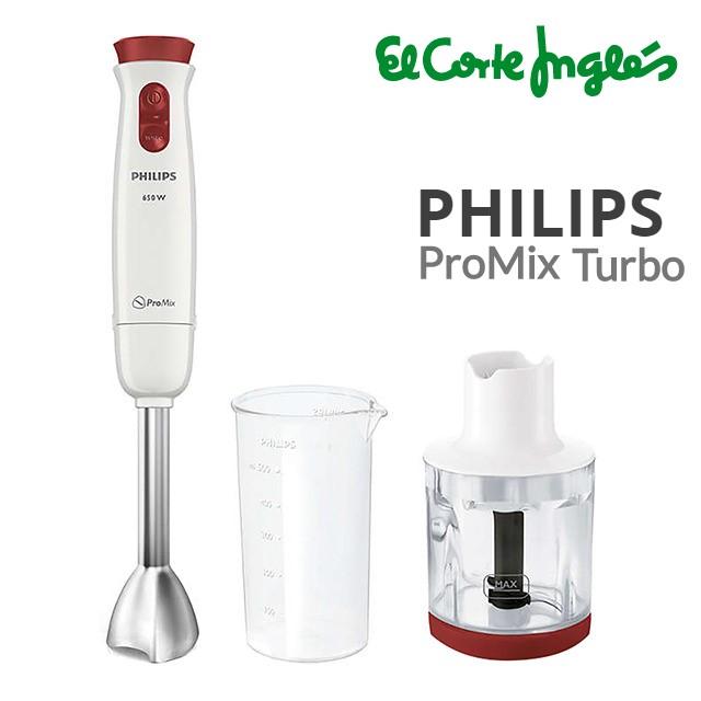 Batidora de pie Philips HR1623/00 ProMix con función Turbo
