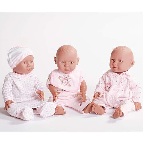 ¡3 muñecos bebés de 41cm por 6,56€! Producto Plus