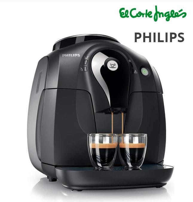 Cafetera espresso súper automática (con molinillo cerámico) Philips HD8650/01 2000 series