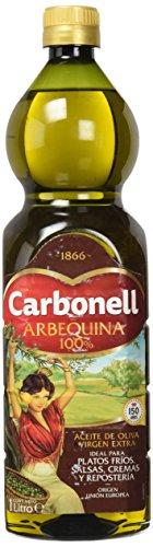 Carbonell Aceite de oliva virgen extra arbequina 1 litro. Amazon pantry