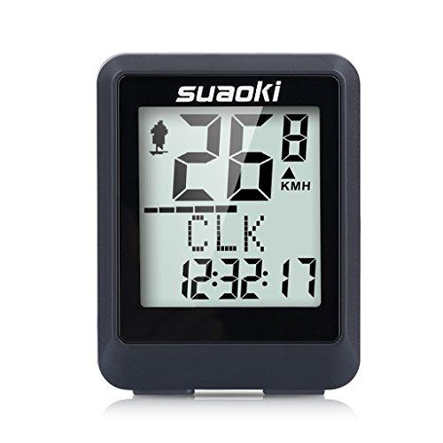 Suaoki - Ciclocomputador Ordenador Digital Para Ciclismo