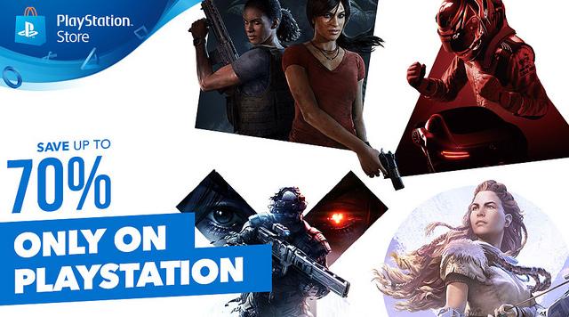 Rebajas en juegos Playstation 4 (lista completa)