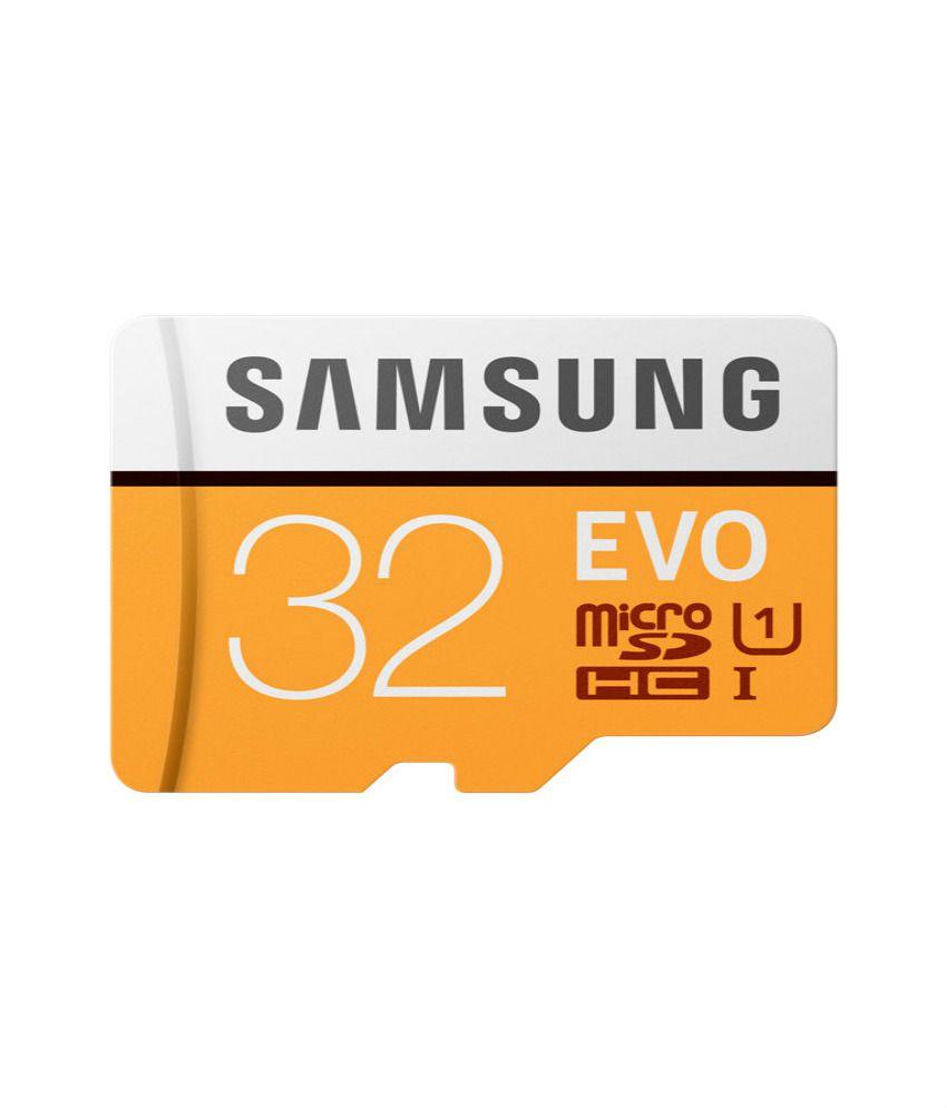 Tarjeta de Memoria Samsung Micro SD / TF  (32GB / Class 10)