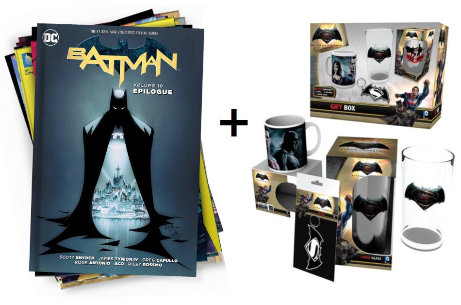 10x Novelas DC + Gift Box a elegir solo 24.4€