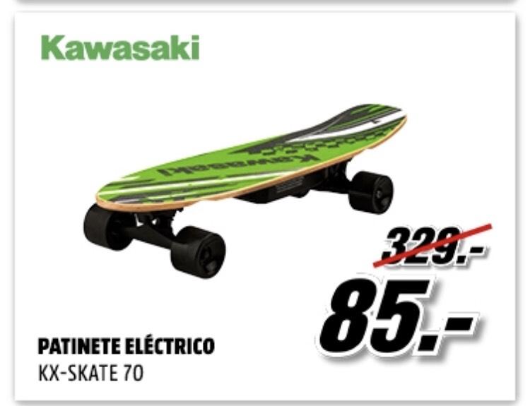 Skate eléctrico [22-10h]