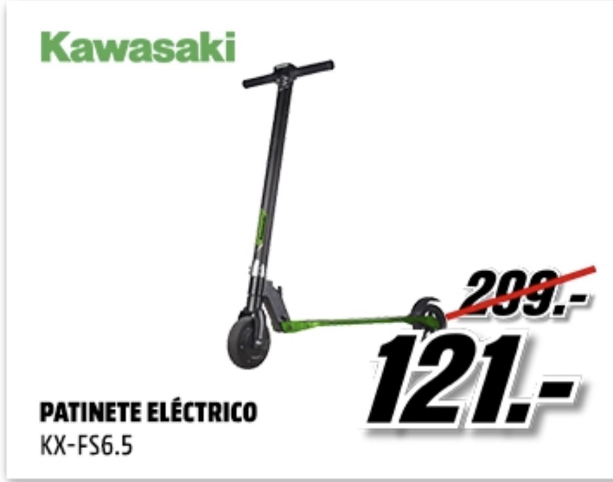 Patinete eléctrico - Kawasaki KX-FS6.5