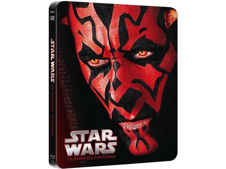 Star Wars, La Amenaza Fantasma, edición metálica bluray.