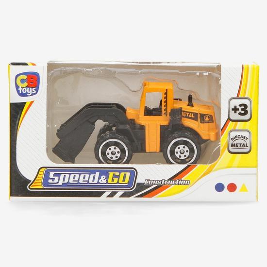 Vehículo construcción de juguete por 0,45