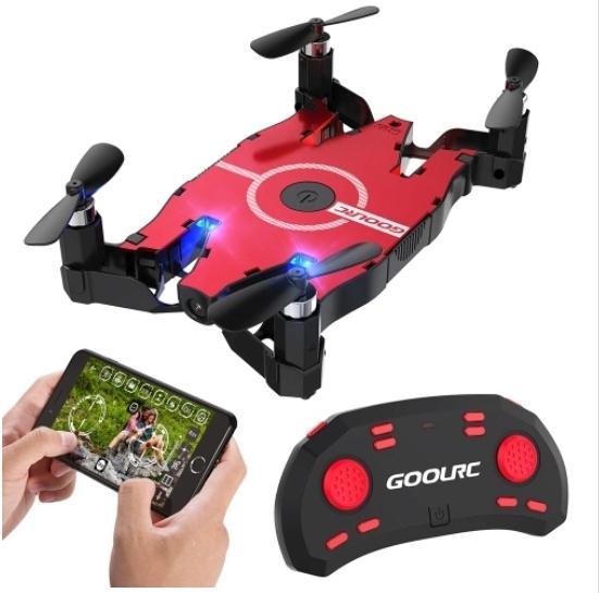 Drone GoolRC T49 WIFI 720P HD G-sensor Plegable