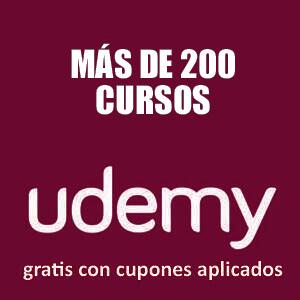 Más de 220 cursos gratis, de diversas temáticas (Udemy)