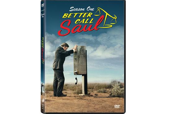 Better Call Saul temp.1 DVD