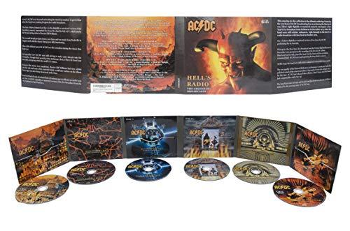 Box Set 6CD Hell's Radio: The Legendary Broadcasts AC-DC 1974-1979
