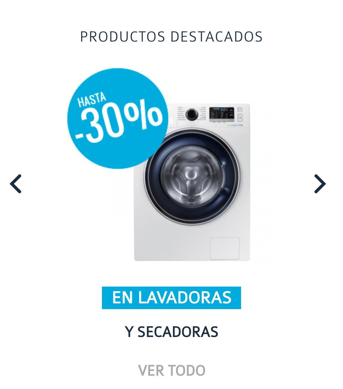 Hasta 30% de descuento Carrefour