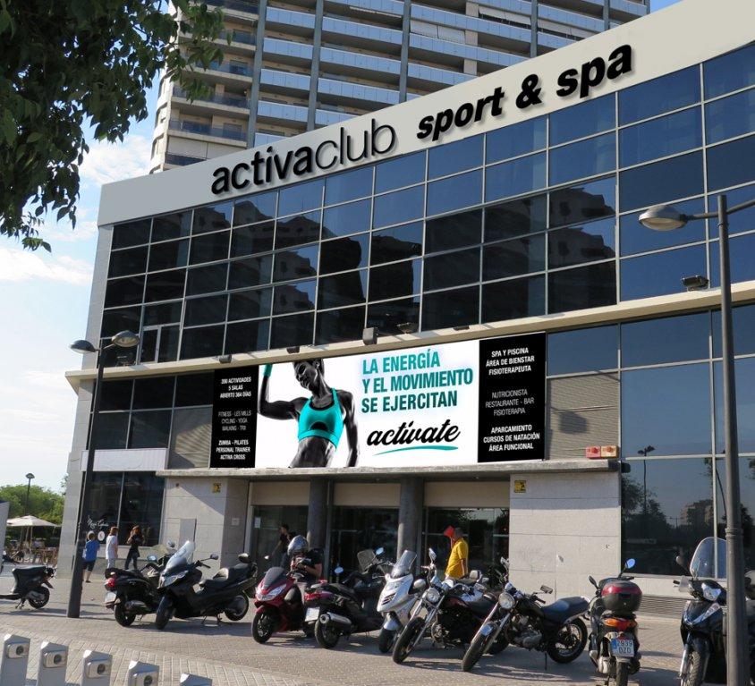 1 o 3 meses en gimnasio Activa Club Sport