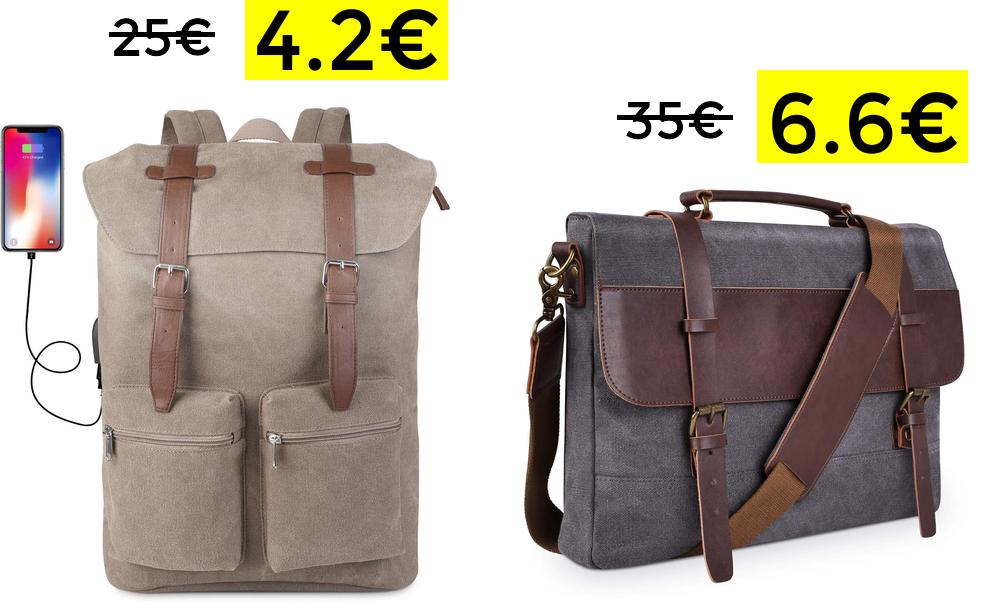 Bajadas de precio + 70% en mochilas y más