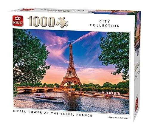 Puzzle 1000 piezas torre Eiffel 8,26€