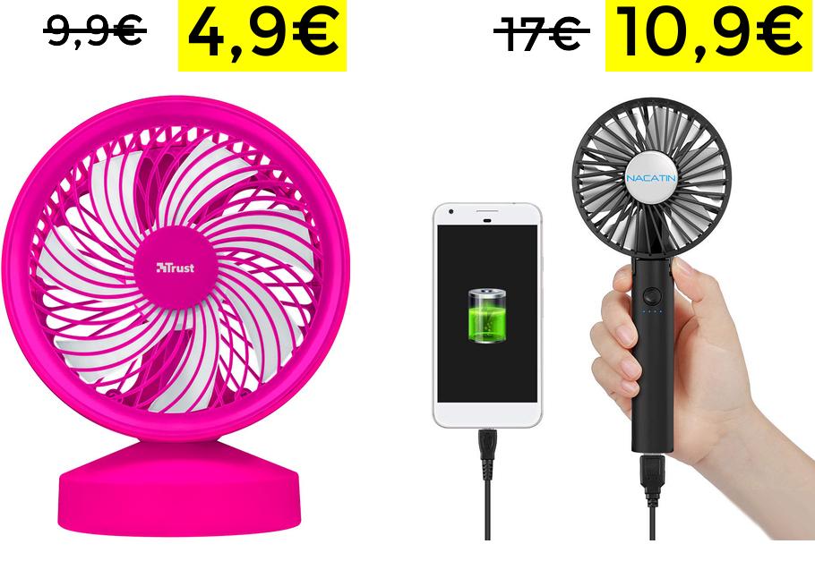 Preciazos en ventiladores